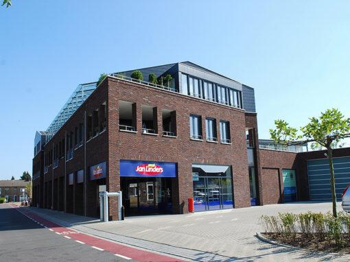 Klimmen – Dross de Limpensplein – 18 woningen en 1875m2 winkelruimtes