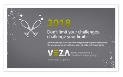 VEZA vastgoed wenst u een succesvol 2018!