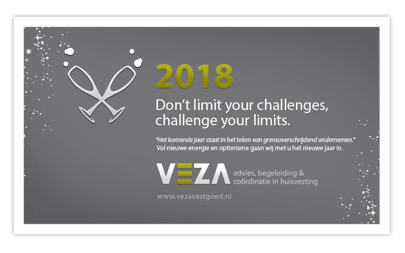 VEZA vastgoed – Echt (NL): Wij wensen u een succesvol 2018!