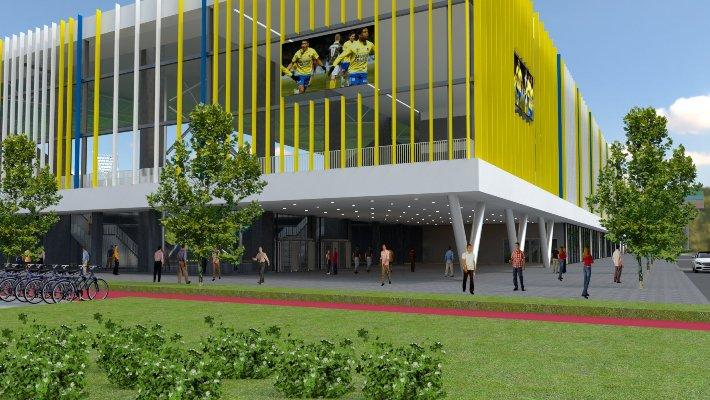 Wyckerveste – Leeuwarden (NL): Co-ontwikkeling Cambuur Care Campus