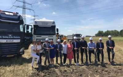 Loven Trucks – Eschweiler (DE): Start bouw!