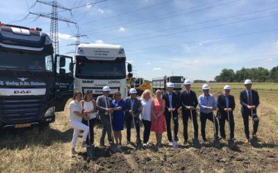 Loven Trucks – Eschweiler (DE): Start bouw!