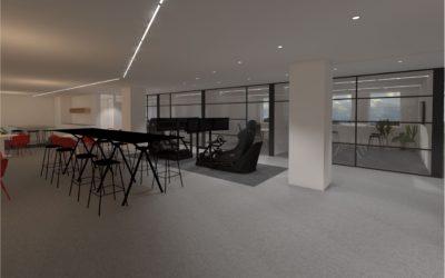 QNH – 'S Hertogenbosch (NL): Verhuisbegeleiding kantooromgeving